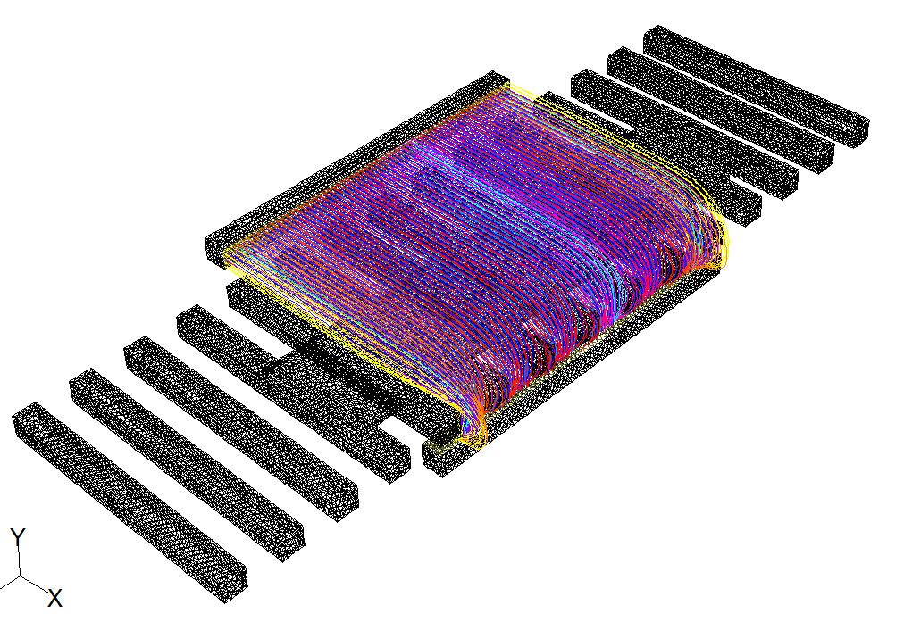 Горизонтальный поддув - 0_3 метров в секунду